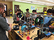 Kids code their own 3D creations with new blocks-based design program - The Hechinger Report