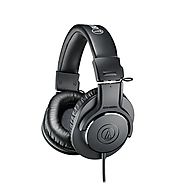 Audio-Technica Ear Professional Studio Monitor Headphones | Cheap Noise Cancelling Headphones