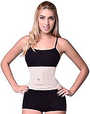 Women's Hourglass Waist Trainer Belt by Sbelt Review ~ WaistLab