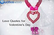Special Love Quotes for Valentine's Day
