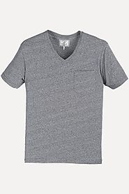Buy Sports Grey Half Sleeve Cotton T-shirt for Men at Zobello