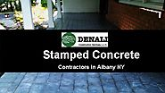 Best Stamped Concrete Services - Denali Construction