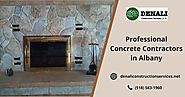 Professional Concrete Contractors in Albany, NY