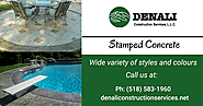 Stamped Concrete Contractors in Albany NY