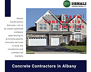Best Concrete Contractors in Albany