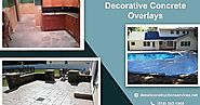 Best Decorative Concrete Overlay