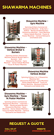Commercial Shawarma Machines