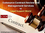 Legal Contract Review and Management Outsourcing Services to Law Frms and Businesses