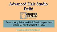Advanced Hair Studio is the Best Choice for Hair Transplant in India