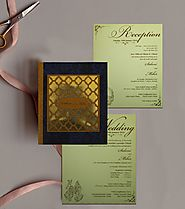 Laser Cut Indian Wedding Cards | AIN-1832 |A2zWeddingCards