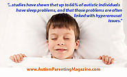 Sleep Study Reveals Need for Change in Bedtime Routine - Autism Parenting Magazine