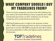 What Company Should I Buy My Tradelines From?