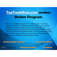 TopTradelines.com review: Broker Program