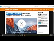 Mac OS X El Capitan ISO - Mac OS X El Capitan (10.11) .ISO Direct Link For Free