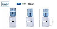 Buy Online White bench top Water Cooler with Water Filter