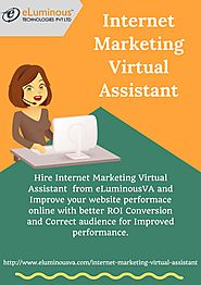Internet Marketing Virtual Assistant