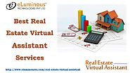 Best Real Estate Virtual Assistant Services