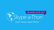 Join us for Skype-a-Thon: Microsoft's global event on Nov. 28-29 aiming to unite nearly half a million students – Mic...