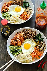 30 Minute Korean Bibimbap