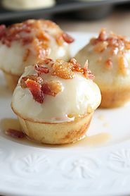 Maple, Bacon, Pancake Bites