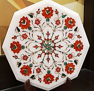 Marble Inlay , Marble Inlay Table Tops, Pietra Dura Table Tops