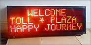 Toll Tax Display Board | Compucare, Baroda(Vadodara), Gujarat
