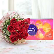 Buy/Send Roses & Celebration Online - YuvaFlowers.com