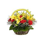 Buy/Send Basket Of Seasonal Fillers Online - YuvaFlowers.com