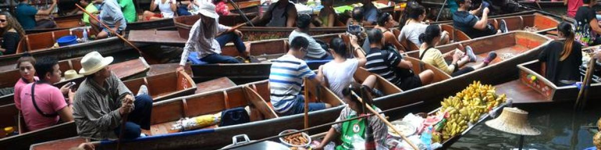 Headline for Floating Markets near Bangkok - Explore the Novel Markets in Thailand