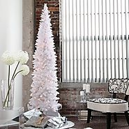 10 best Pencil Slim Christmas Trees images on Pinterest | Slim christmas tree, Pencil and Artificial christmas trees