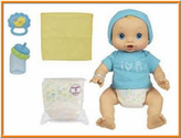 Baby Boy Doll - Alive Wets and Wiggles