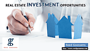 Invest In Real Estate - Reed Goossens