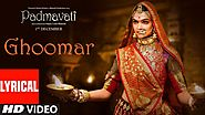 Ghoomar from Padmavati