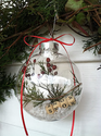 Wintery Snow Scene Ornament