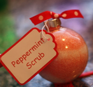 Peppermint Bath Salt Ornament