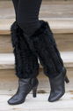 Rabbit Fur Boot Toppers- A fashion statement