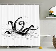 Best Octopus Shower Curtain for your Bathroom