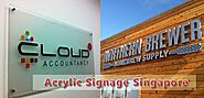 The Reasons Why Acrylic Signage Improve Business