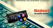 Nuendo Cubase Keyboard Sticker - 4keyboard