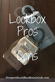 Pros and Cons of Using a Lockbox when Selling Your Home