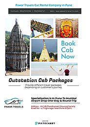 Book Outstation Cab Services From Pune With Pawar Travels