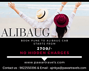 Book Pune to Alibaug Cab Affordable Taxi Rates From 2700/-