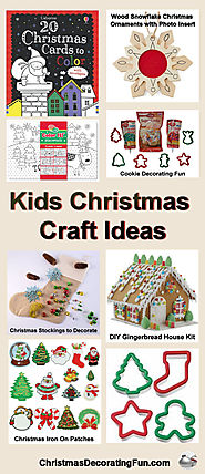 Kids Christmas Craft Ideas - Kids love crafts, and Christmas is the perfect time to put together fun and festive crea...