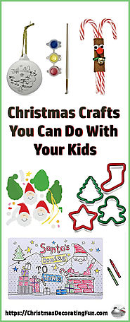Christmas Crafts You Can Do With Your Kids - Kids love everything about Christmas except waiting for the day to get h...