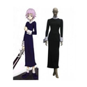 Soul Eater Crona Black Long Dress Cosplay Costume -- CosplayDeal.com