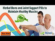 Herbal Bone and Joint Support Pills to Maintain Healthy Muscles