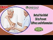 Herbal Pain Relief Oil to Prevent Stiffness and Inflammation
