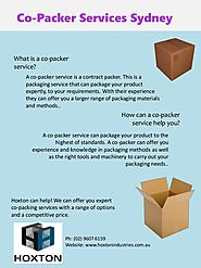 What is a Co-Packer Service?