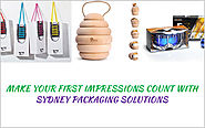 Make your first impressions count with Sydney packaging solutions