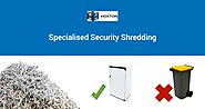 security shredding service in Liverpool, Campbeltown, and Fairfield, Sydney, Australia
